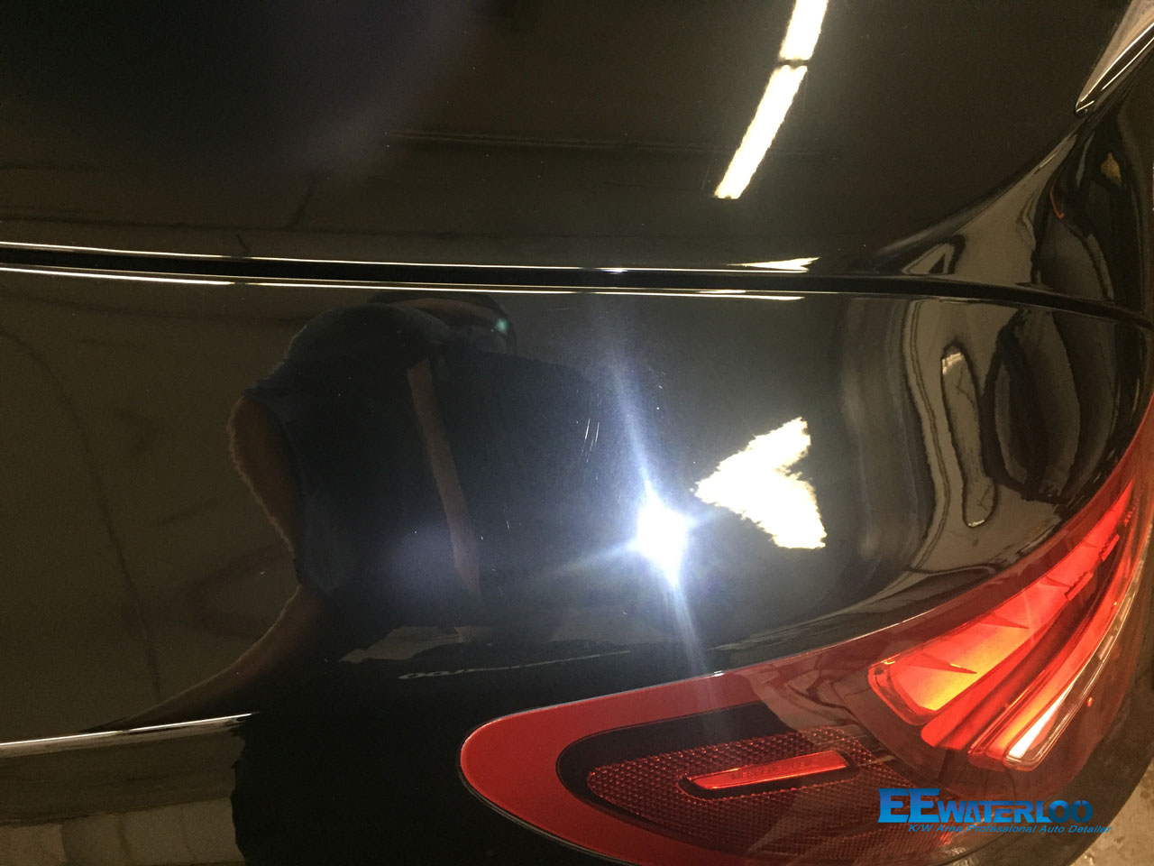 Project Single Step Polish Mercedes Cla45 Coated With