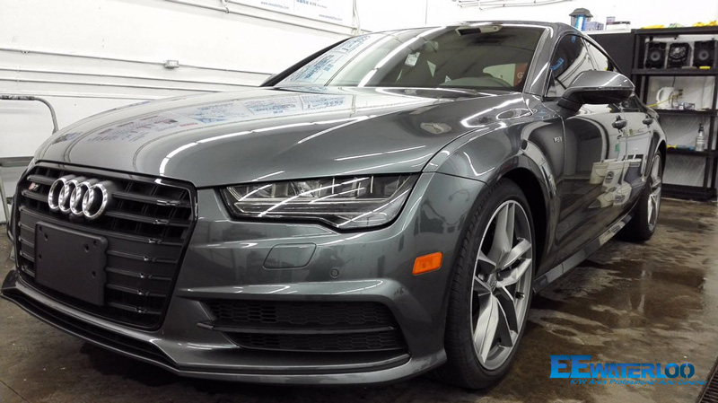 Project Audi S7 Coated With Gtechniq Cls Nano Coating
